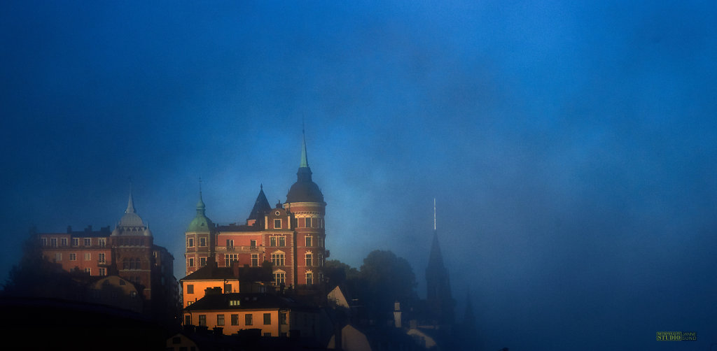 Foggy Old Town
