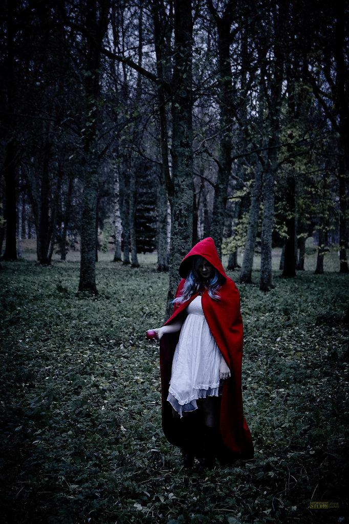 Little Red Riding Hood Looking a Bit...